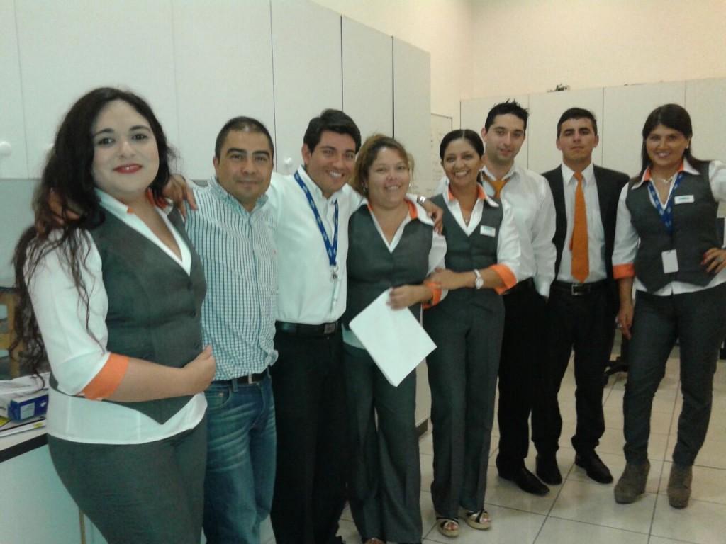 Colaboradores Páris Antofagasta Junto a Patricio Morales